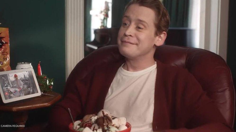 Foto: Macaulay Culkin vuelve a tener el mismo aspecto que cuando rodó Sólo en casa hace 28 años (Foto: YouTube)
