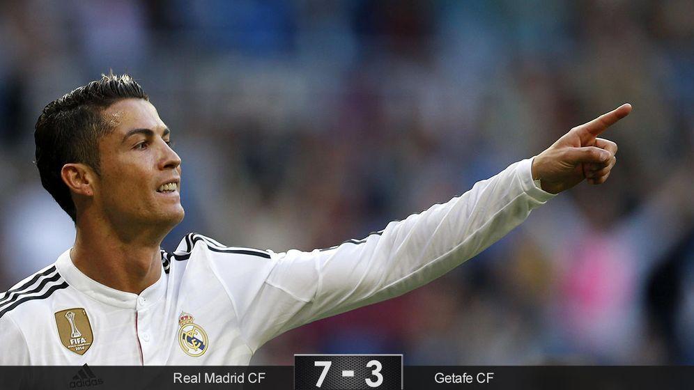 Foto: Casillas y Ancelotti, en su despedida, son los mayores ganadores en la goleada del Madrid