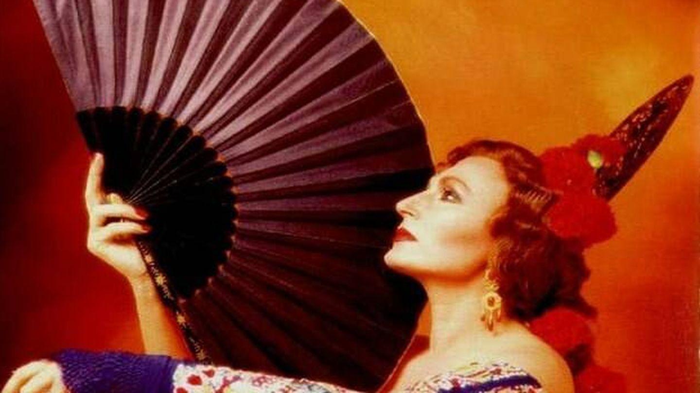 Rocío Jurado en una imagen promocional de su disco 'Tan solo una mujer'