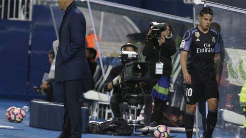 James, el último 'galáctico' del Madrid que Zidane convirtió en descarte