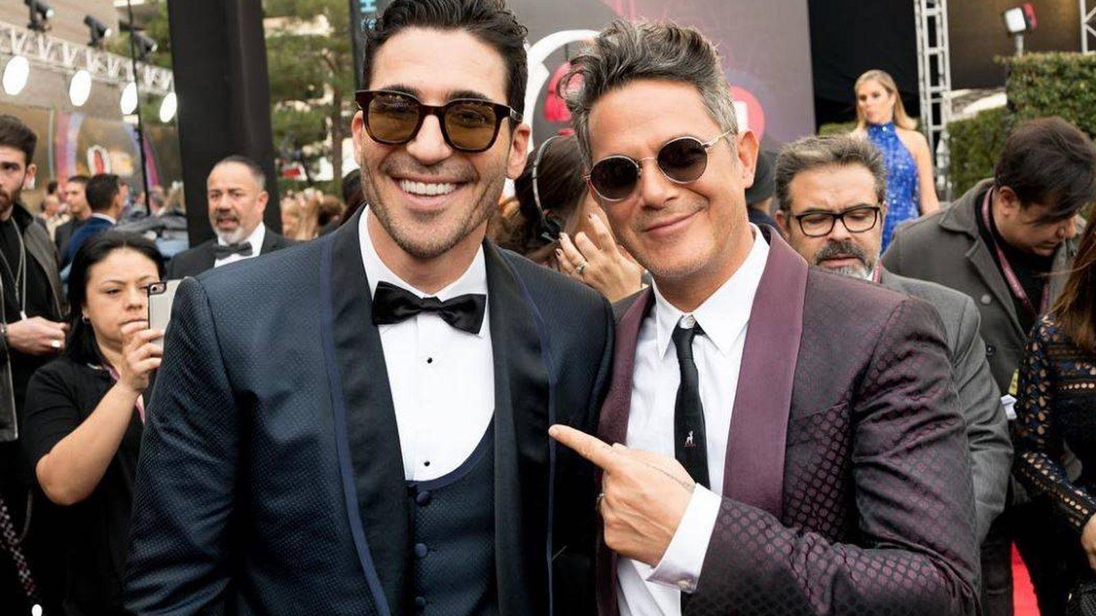 Foto:  Miguel Ángel y Alejandro en una imagen del Instagram de Silvestre