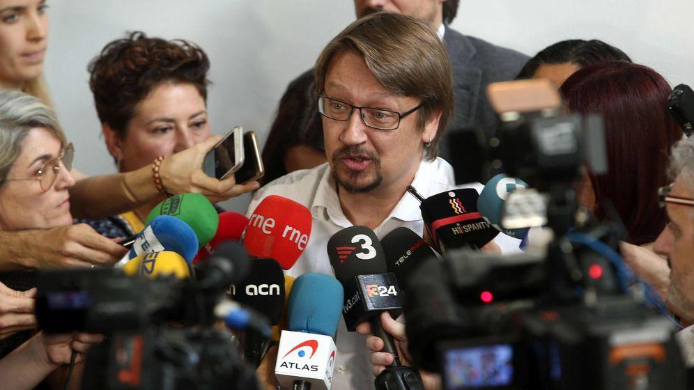 Foto: El coordinador general de Catalunya En Comú, Xavier Domènech. (EFE)