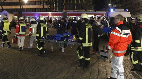 Un hombre armado con un hacha hiere a siete personas en Dusseldorf