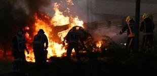 Post de El accidente de Baréin evoca las grandes bolas de fuego de los años 70 en la Fórmula 1