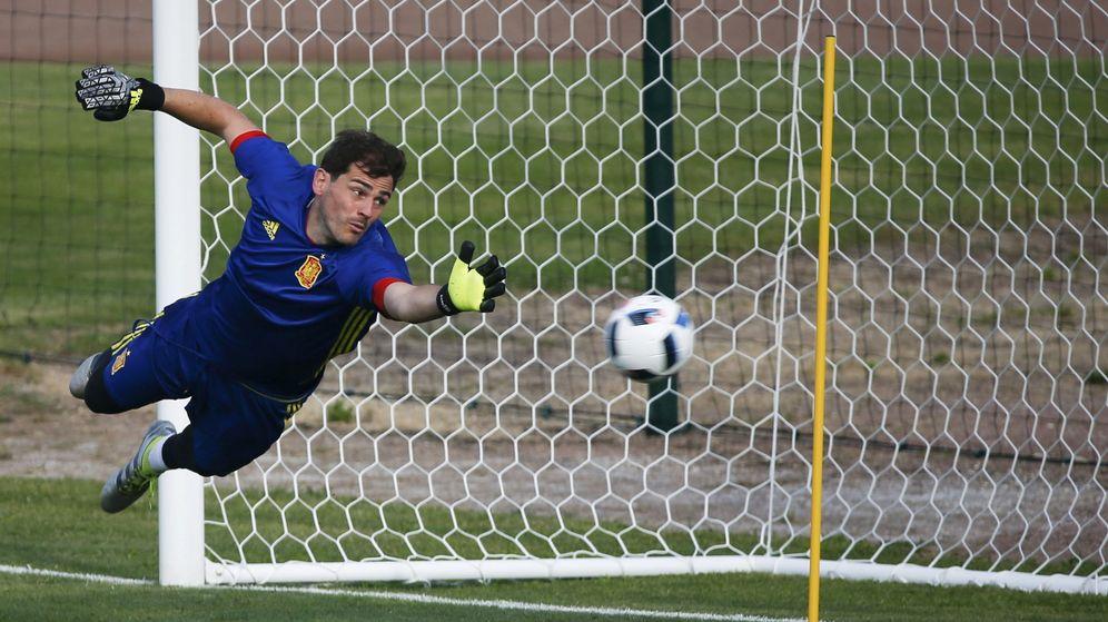 Foto: Casillas es ahora favorito para ser titular (Sergio Pérez/Reuters).