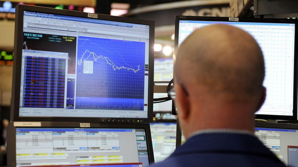 Foto: Corredor de la Bolsa de Nueva York. (EFE)