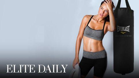 Probamos fitboxing, el deporte preferido de Adriana Lima