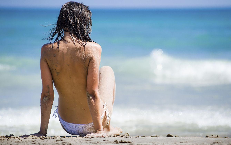 en la playa a pasar el fin de ano