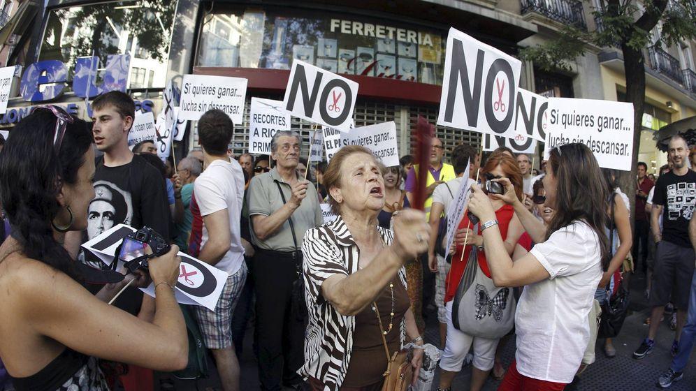 Foto: Una manifestación en Madrid en 2012. (Efe)