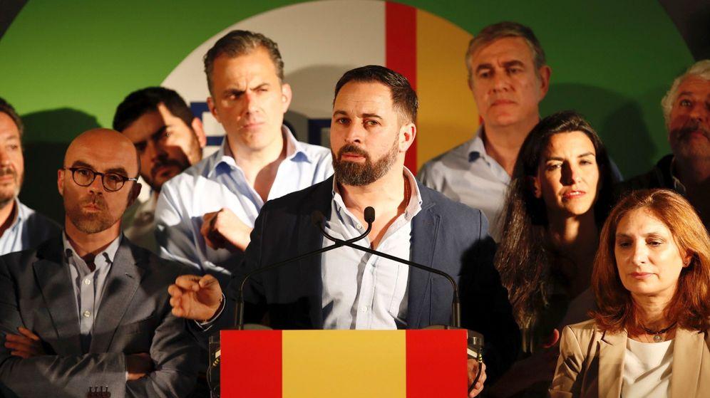 Foto: Vox arranca la campaña electoral del 26 de mayo en Paracuellos. (EFE)
