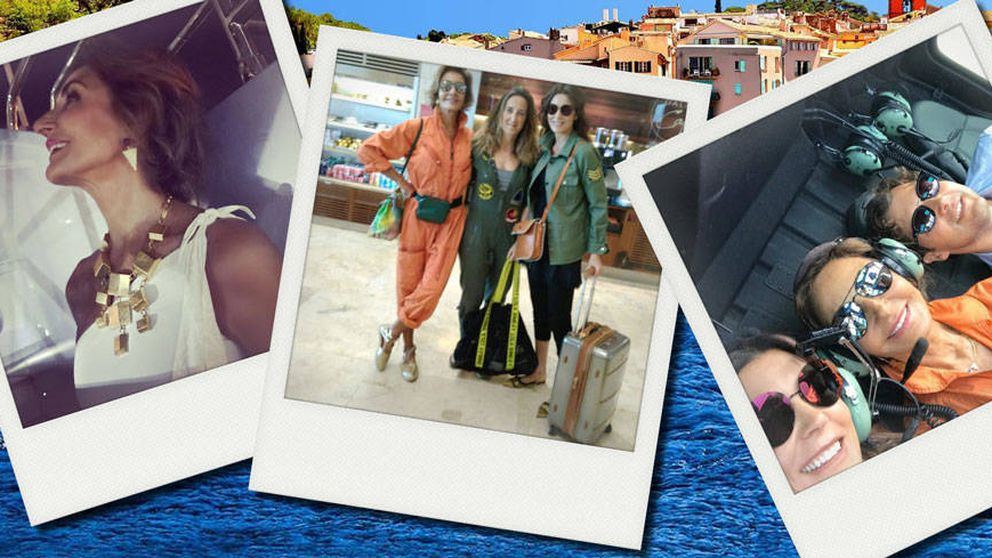 Naty Abascal nos narra su fiestón con Mar Flores y Elías Sacal en Saint Tropez
