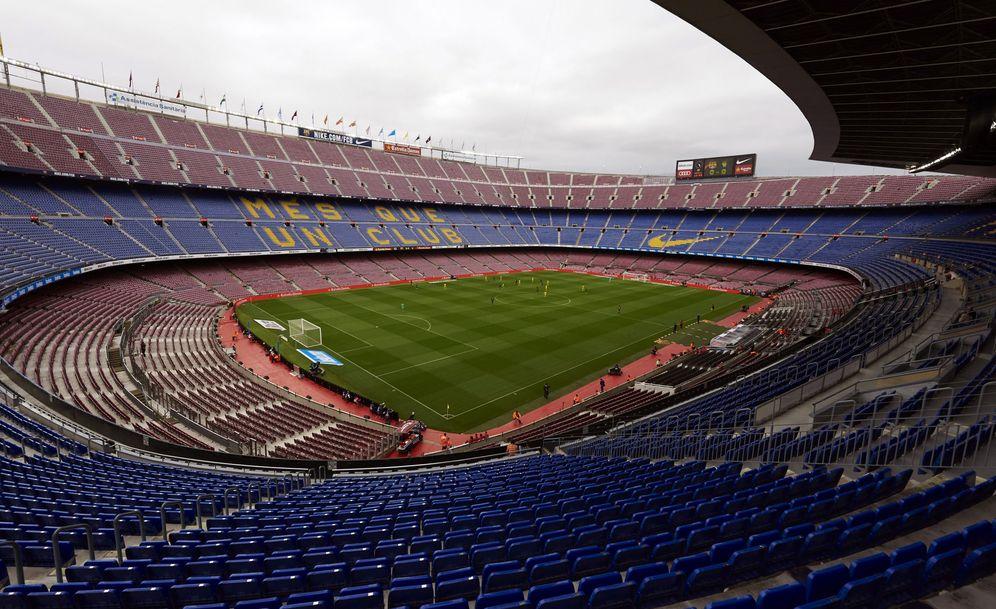 Foto: Vista panorámica del Camp Nou. (EFE)