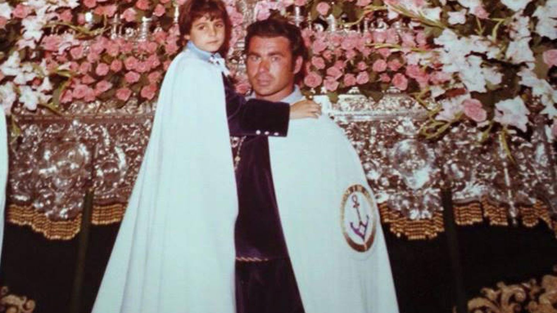 Paquirri, durante la Semana Santa en una imagen de archivo. (Facebook)