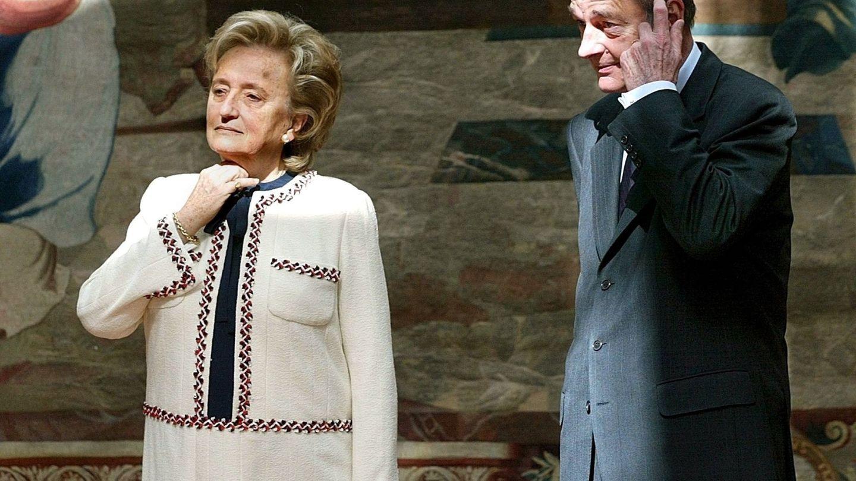 Jacques y Bernadette Chirac. (EFE)