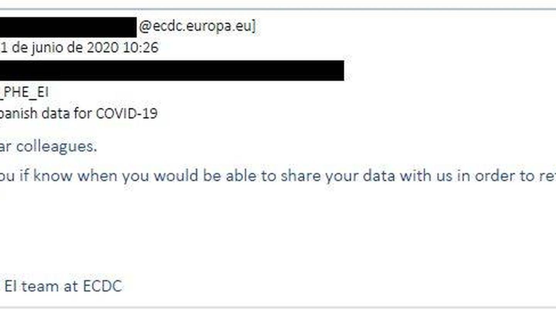 Segundo aviso desde el ECDC. (El Confidencial)