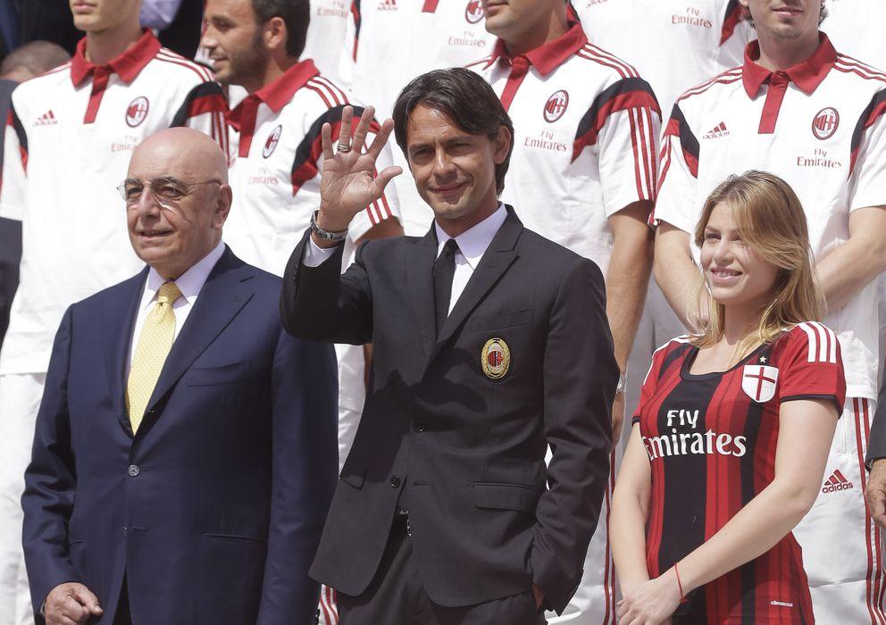 Foto: Bárbara Berlusconi en la presentación del AC Milán (Gtres)