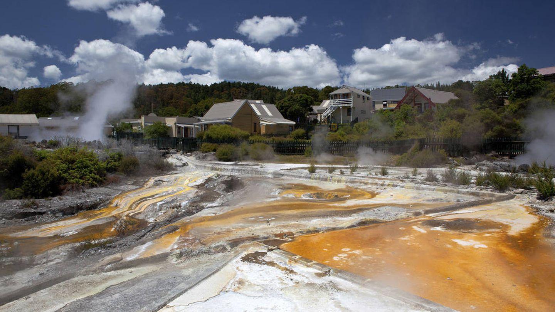Parque termal de Whakarewarewa y sus aguas 'marrones'