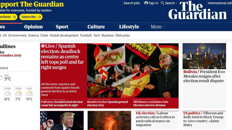 La extrema derecha deja de ser marginal desde Franco: el 10-N, a ojos del mundo