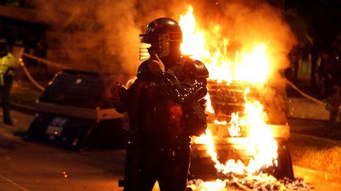 Al menos 10 muertos en los disturbios contra la violencia policial en Colombia