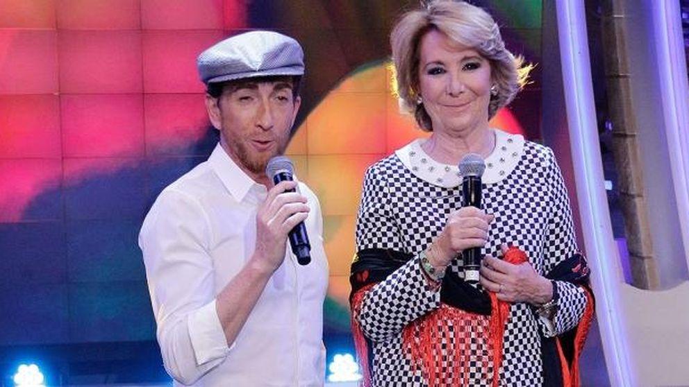 Aguirre arranca la campaña en Antena 3 bailando y cantando un chotis en inglés