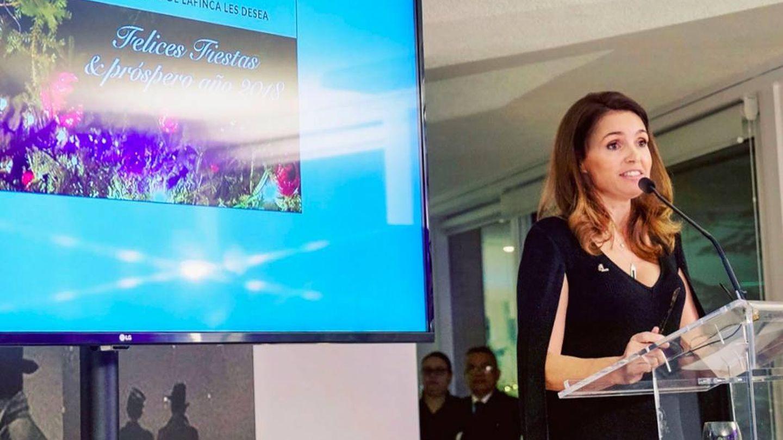 Susana García-Cereceda, en el discurso de Navidad de 2018 a sus empleados.