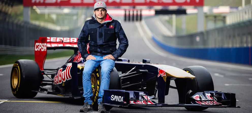 Foto: Carlos Sainz Jr con el Toro Rosso (Scuderia Toro Rosso).