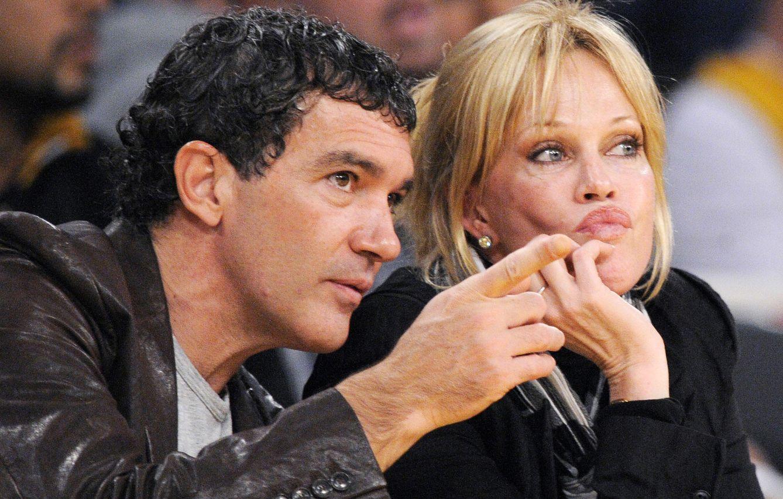 Foto: Antonio Banderas y Melanie Griffith (Gtres)