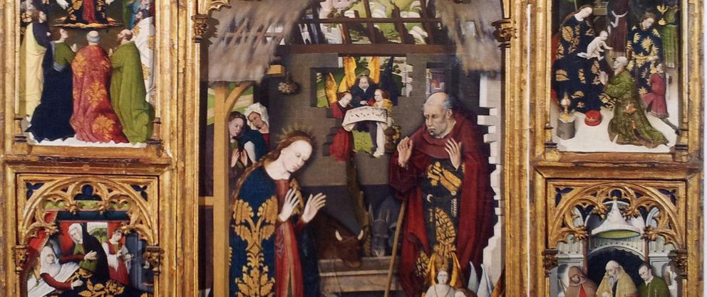 Foto: Fragmento del 'Tríptico del Zarzoso', comprado por el Museo del Prado a la familia Várez Fisa.