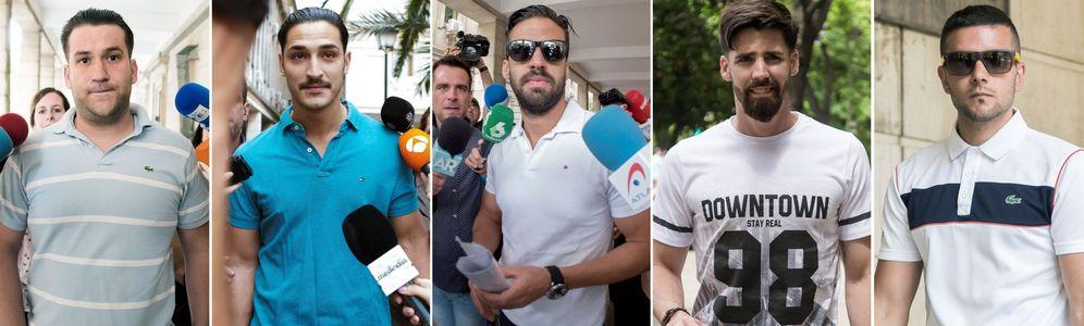 Foto: Los cinco miembros de La Manada. (EFE)