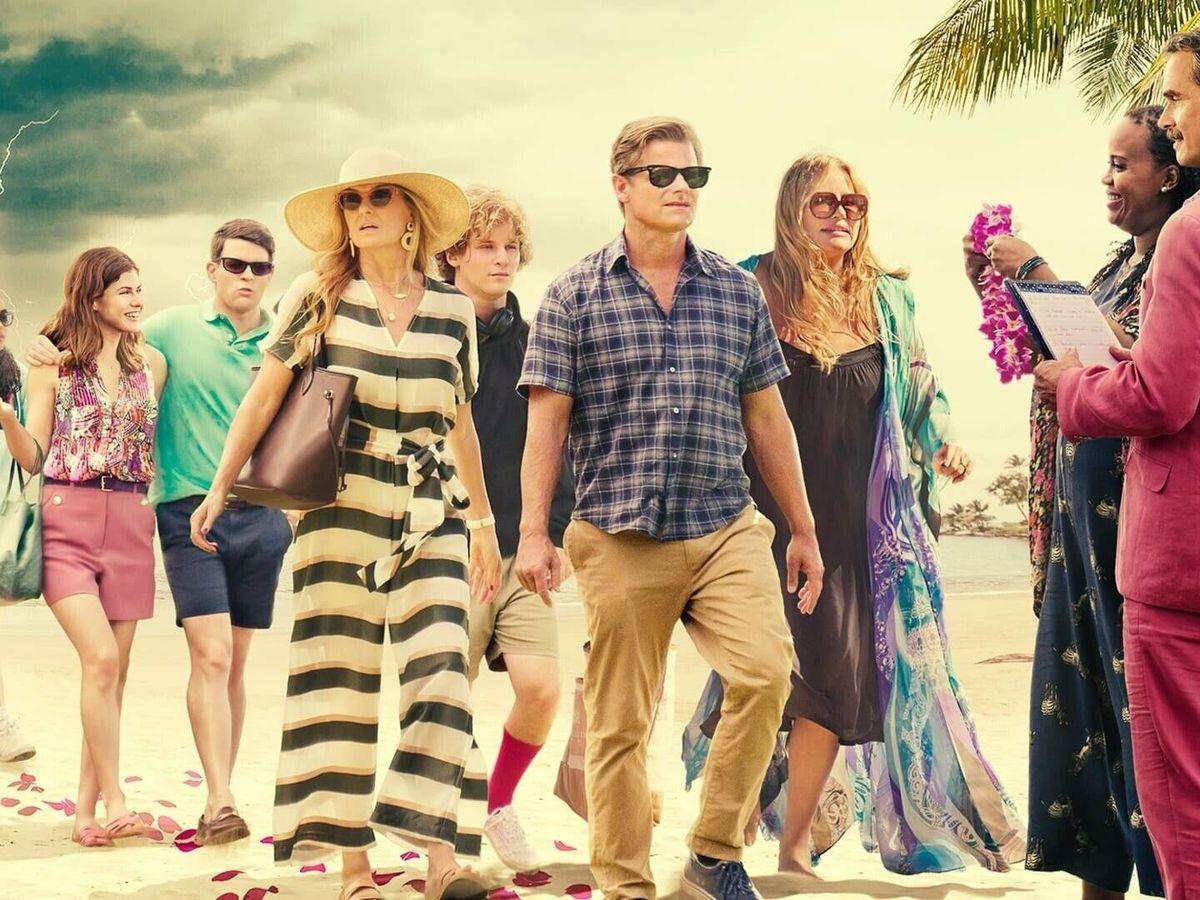 Foto: Cartel promocional de 'The White Lotus'. (HBO)