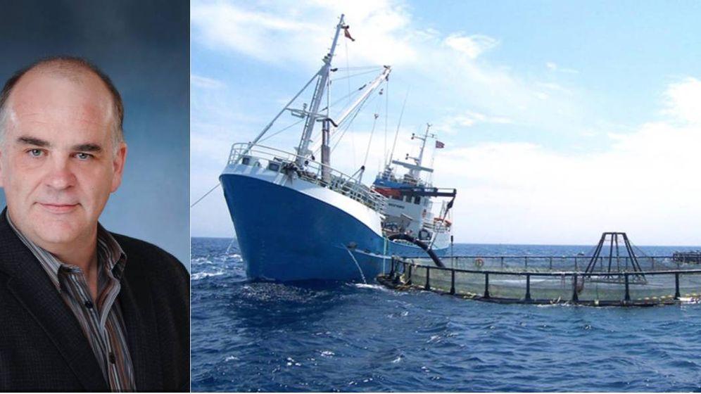 Foto: Glenn Cooke es el CEO de Cooke Aquaculture, dueño canadiense de la española Culmárex.