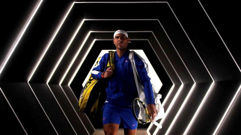Foto: Rafa Nadal, durante el Masters 1000 de París. (Reuters)