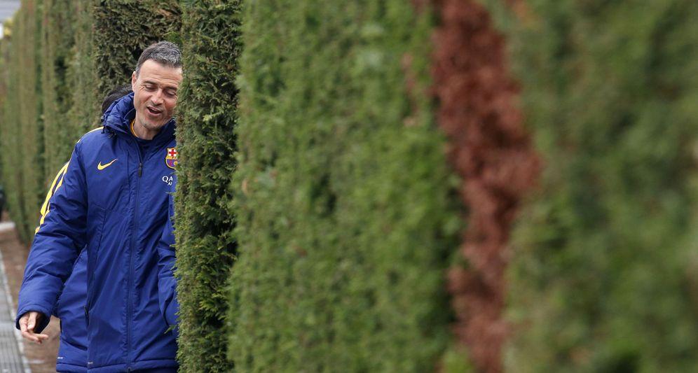 Foto: Luis Enrique ve muy motivados a sus jugadores (Reuters)