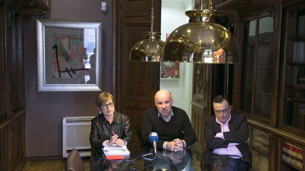 Foto: Los portavoces de JpD. (EFE)