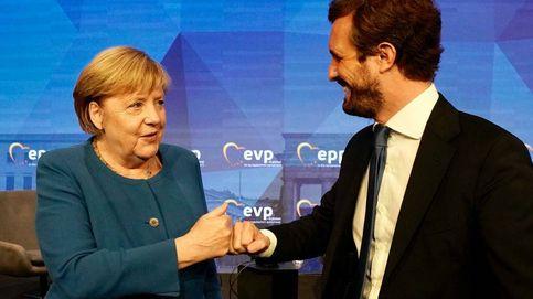 Casado estira las costuras ideológicas del PP Europeo en la era post-Merkel