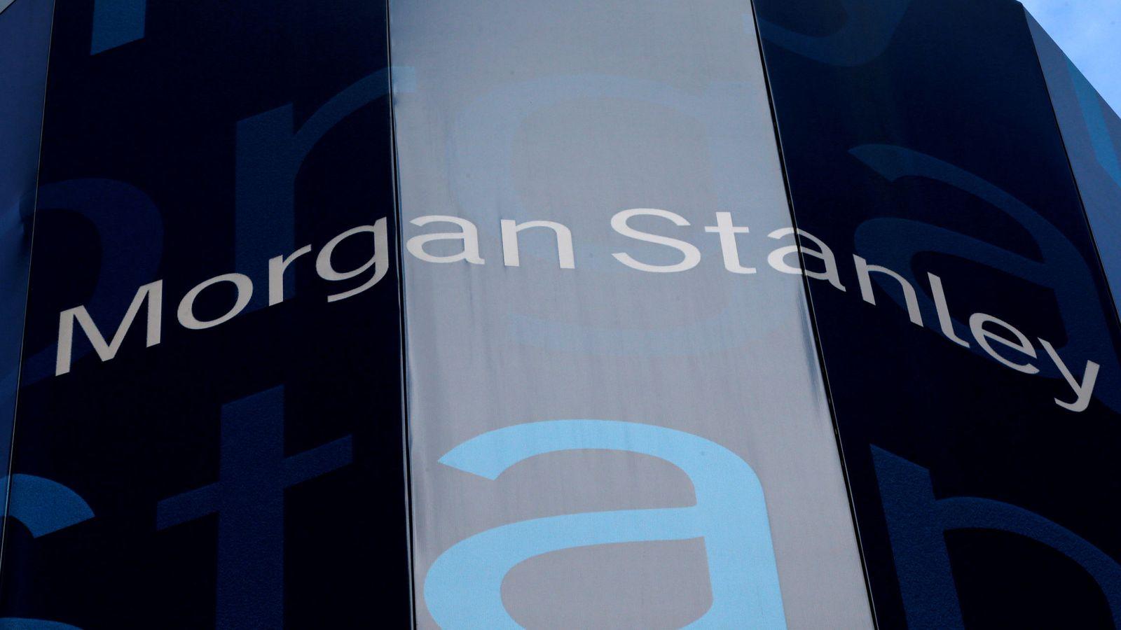 Foto: Logo de Morgan Stanley. (Reuters)