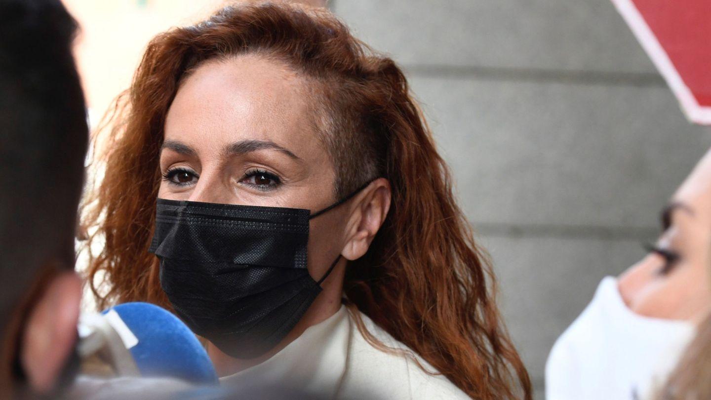 Rocío Carrasco, en su último juicio, el 30 de julio. (EFE)