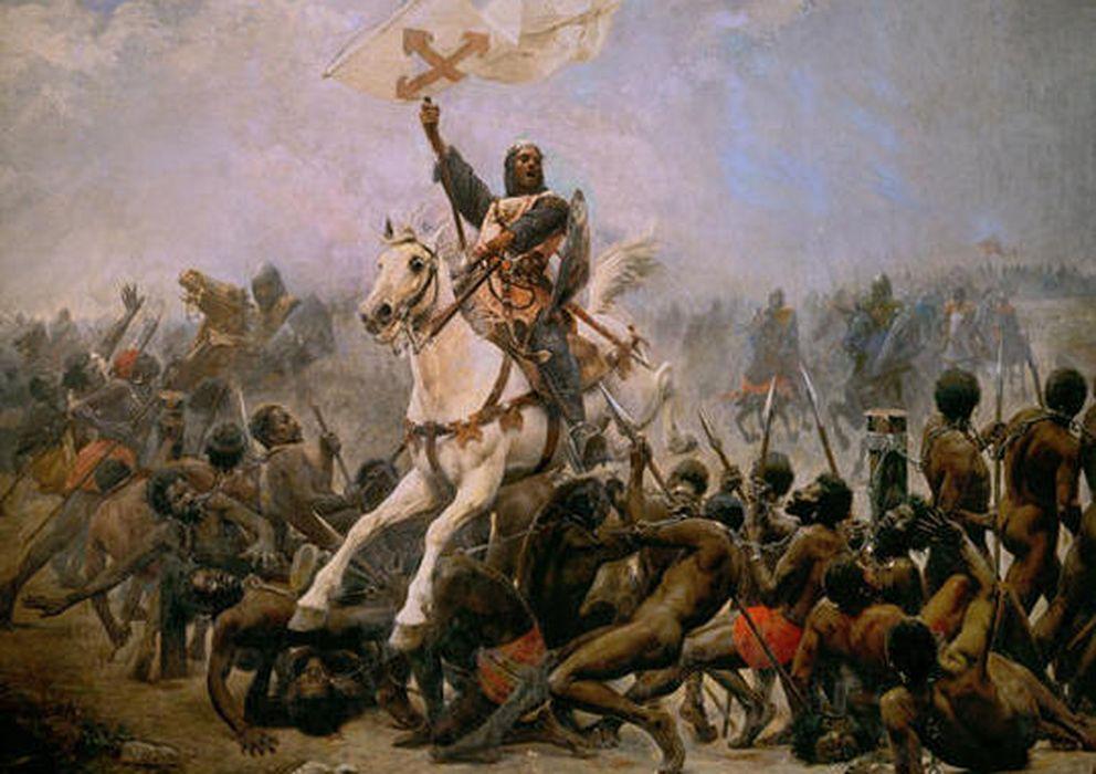 Foto: Batalla de las Navas de Tolosa.