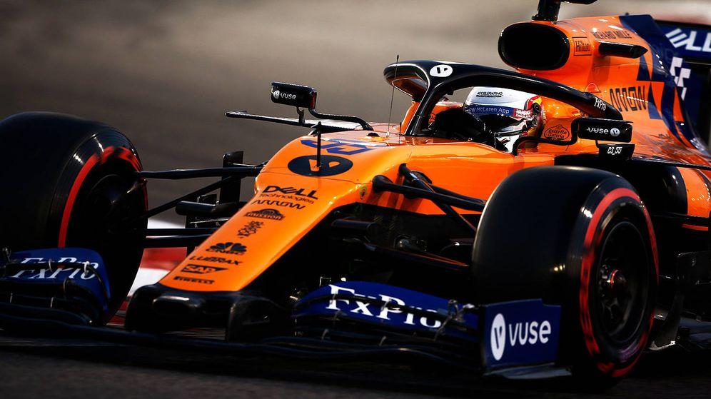 Foto: Tras una complicada carrera, Sainz aseguró el sexto puesto con un arriesgado adelantamiento a diez curvas del final. (McLaren)