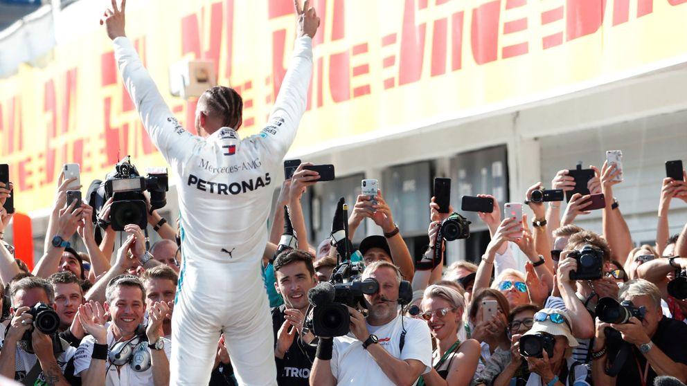 Resultado del GP de Hungría de F1: victoria de Hamilton con Alonso 8º y Sainz 9º
