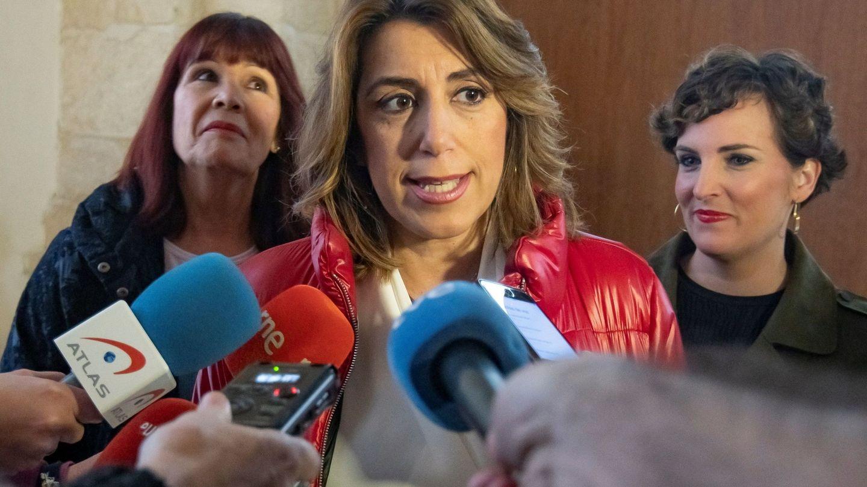 Susana Díaz, en una comparecencia. (EFE)