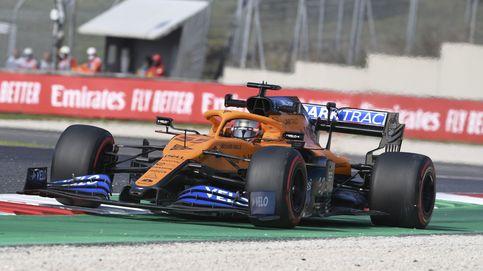 Fórmula 1 en directo: Carlos Sainz, del podio a sufrir en el Gran Premio de la Toscana