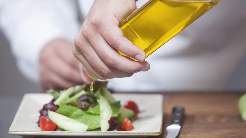 Foto: El aceite de oliva es el tipo de grasa más saludable (Corbis)