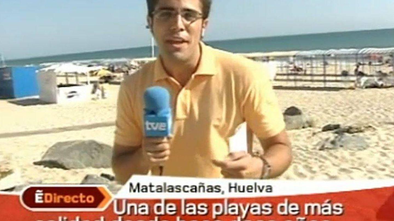 Roberto Leal en su primer reportaje. (TVE)