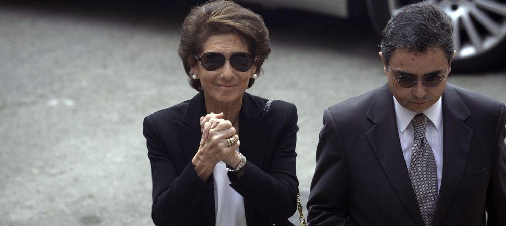 La viuda de Emilio Botín se lleva 37 millones en acciones del Santander de la herencia