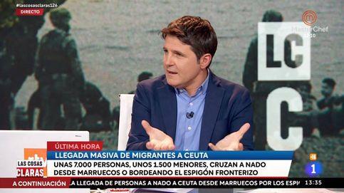 Una tertuliana de Cintora, tajante con Abascal por su tuit sobre la crisis migratoria en Ceuta