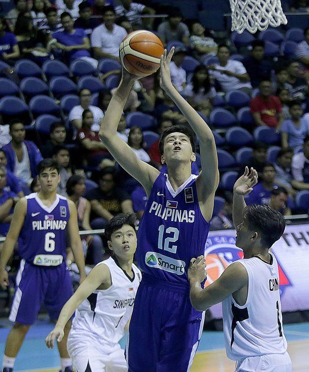 Foto: Kai Sotto, con 16 años, ya es una estrella del baloncesto filipino. (Imago)