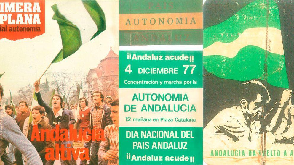 4-D: el día en que 300.000 andaluces pelearon en las Ramblas por el 'país andaluz'