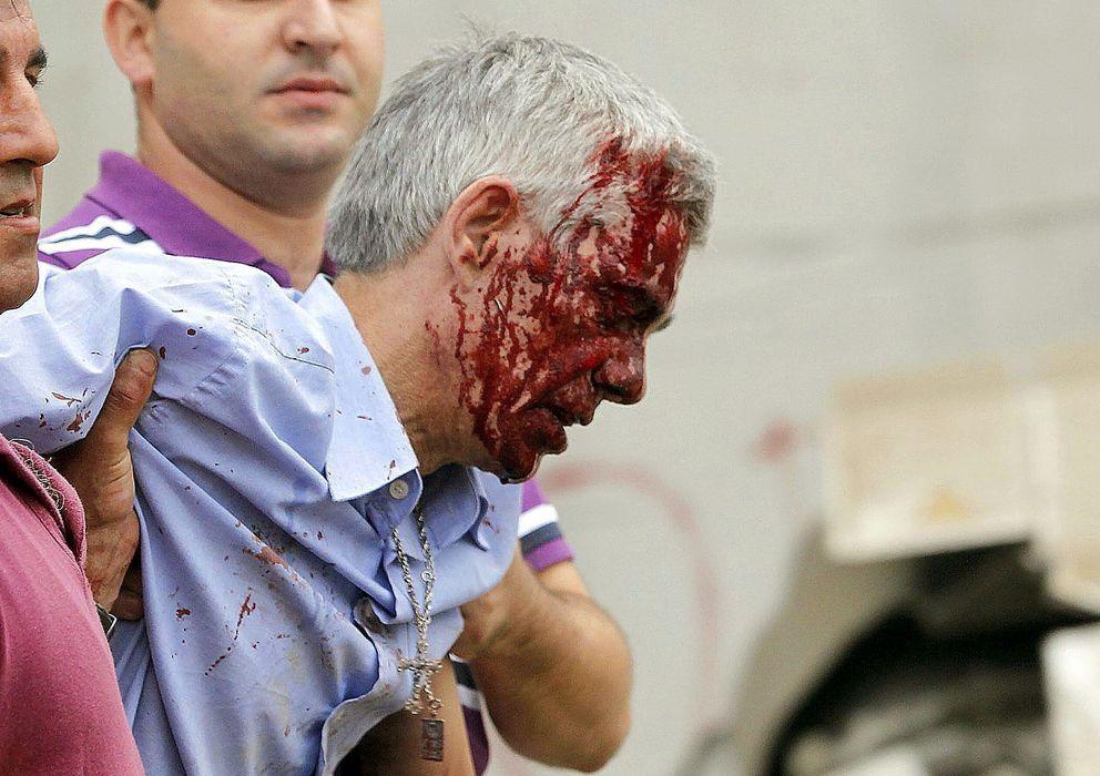 Foto: El maquinista que conducía el tren accidentado en santiago de compostela. (efe)