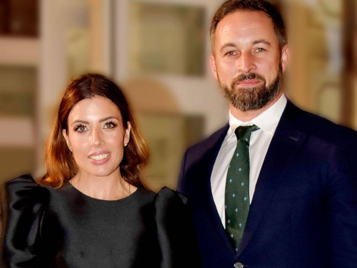Foto: Lidia Bedman y Santiago Abascal, en los Premios Princesa de Asturias. (Cordon Press)